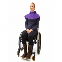 Waterproof Shoulder Cape With Rear Flysheet