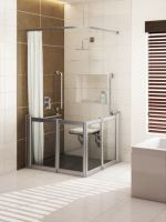 Aluseal Half Height Shower Doors Range