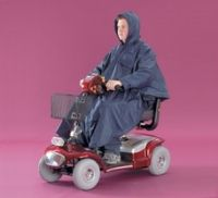 Lined Scooter Poncho