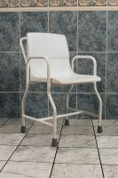 Portable Shower Chair With Rubber Feet