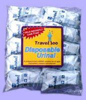 Traveljohn Resealable Disposable Urinal