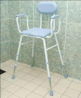 Polyurethane Adjustable Height Moulded Shower Stools