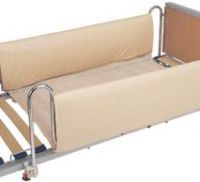 Connected Cot Side Bumpers Set