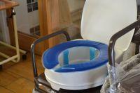 Gel Pressure Relieving Toilet Seat Pad
