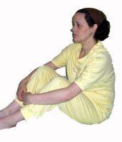 Ladies All-in-one Short Sleeved Sleepsuit