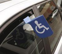 Disabled Parking Flag