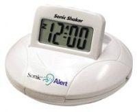 Sonic Go Anywhere Shaker Travel Alarm Clock