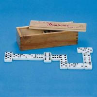 Easy-to-see Dominoes With Indented Black Dots