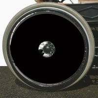 Black Or White Wheelchair Spoke Guards