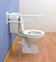 Devon Elite Folding Toilet Support Rail