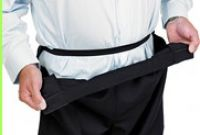 Adaptive Drop-front Velcro Fastening Trousers