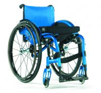 Quickie Neon Swing Away Folding Wheelchair