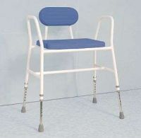 Extra Wide Polyurethane Moulded Shower Stool