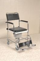 Economy Mobile Commode Chair