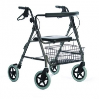 Heavy Duty 4 Wheeled Rollator