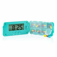 Tabtime Super 8 Pill Box With Eight Alarms