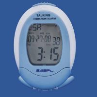 Sasp Talking Vibrating Alarm Clock And Calendar And Countdown Timer