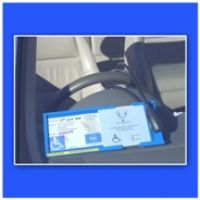 Blue Badge Double Protector
