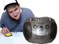 Power Adapted Cd Boombox