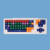 Early Learning Keyboard With Uppercase Black & White Keys