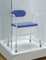 Polyurethane Wide Moulded Shower Stool