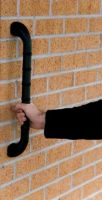 Straight Outdoor Grab Bar