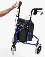 Ultralight Aluminium Tri-wheel Walker