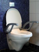 Dolphin Toilet Seat Raiser With Armrests