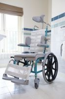 Hmn M2 Mini Self Propelled Shower Chair
