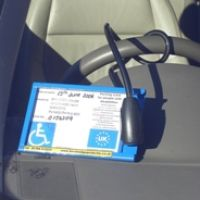 Single Blue Badge Protector