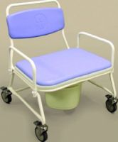 NRS Bariatric Mobile Commode
