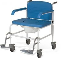 Bariatric Mobile Shower Commode Chair