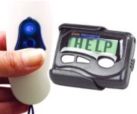 Push Button Fob Style Message Transmitter And Pager