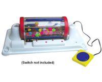Motorized Glitter Roll Music Box