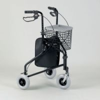 Aluminium Three Wheeled Rollator