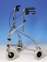 Lightweight Steel Tri Walker Rollator