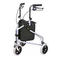 Tri Wheel Walker With Lockable Brakes
