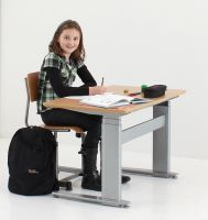 ConSet 50127 Child & Young Adult Rectangular Electric Desk
