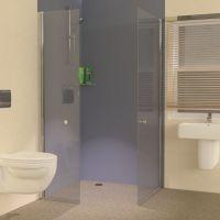 Foldaway Wet Room Shower Screens
