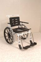 Combi Self Propelled Commode Shower Chair