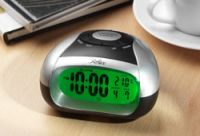 Talking Lcd Alarm Clock With Spoken Temperature