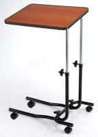 Economy Wheeled Overbed Table