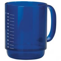 Large Round Handle Mug