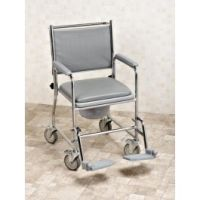 Fixed Height Wheeled Commode
