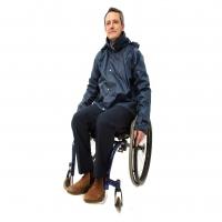 Warm Lined Waterproof Wheelchair Jacket