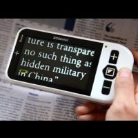 Zoomax Snow Portable Electronic Video Magnifier