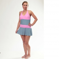 Kes-vir Ladies Skirt Swimsuit