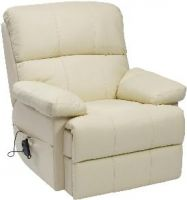 Sven Leather Rise & Recline Armchair