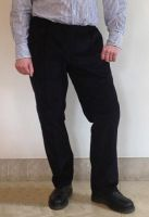 Mens Elasticated Waist Cord Trousers