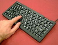 Compact Keyboard & Keyguard